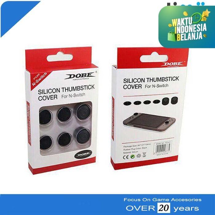 Foto Produk Thumb Stick Silicon Cover Grip Joy-Con Nintendo Switch DOBE dari Timur Game Shop