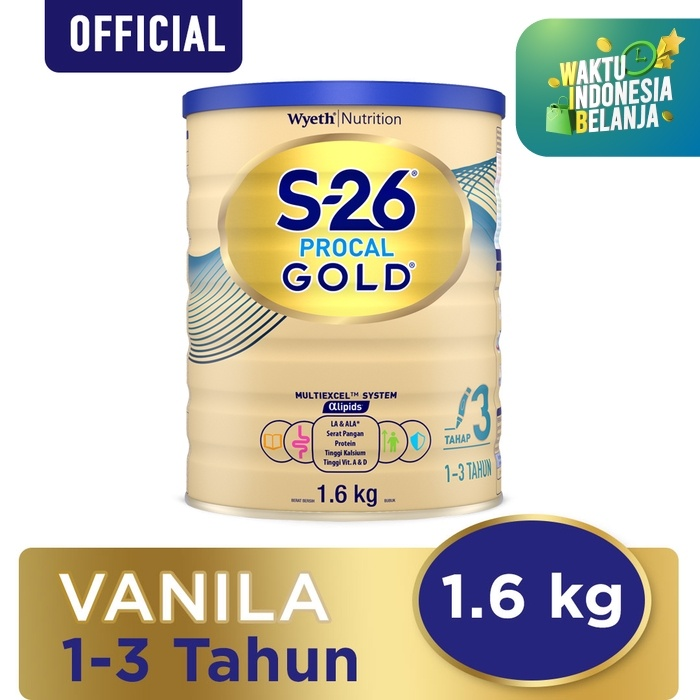 Foto Produk S-26 PROCAL GOLD Can 1.6KG dari S-26 Procal GOLD