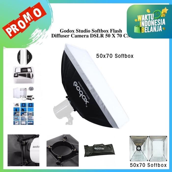 Foto Produk Godox Studio Softbox Flash Diffuser Camera DSLR 50 X 70 CM dari pixmix