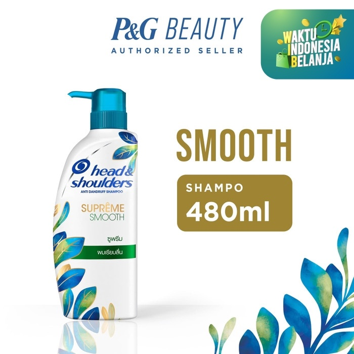 Foto Produk Head & Shoulders Shampoo Supreme Smooth Anti-Ketombe 480ml dari P&G Official Store