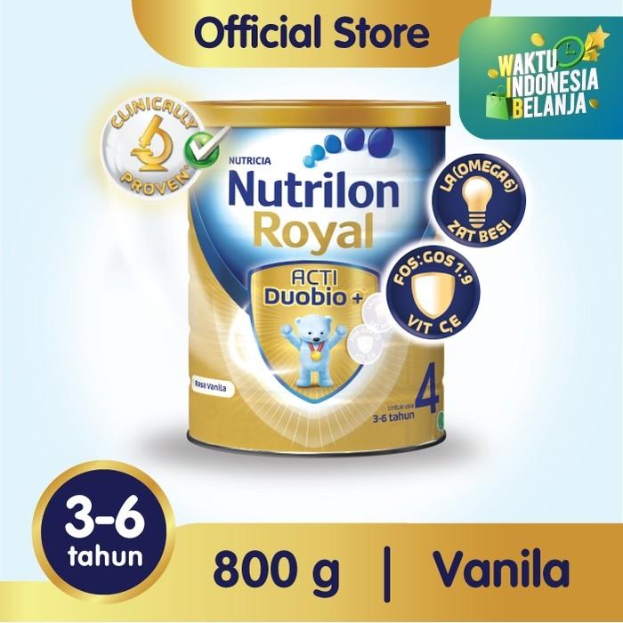 Foto Produk Nutrilon Royal 4 Susu Pertumbuhan 3-6 Thn Vanila 800gr dari Nutrilon Shop