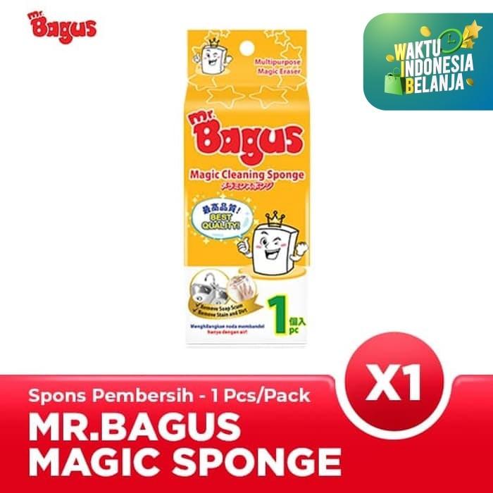 Foto Produk Mr. Bagus Magic Sponge (Spon Ajaib) 1's dari Bagus Official Store