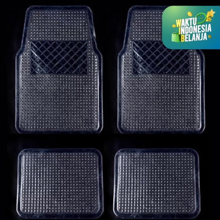 Foto Produk Karpet Mobil Transparan Bening Tipis UNIVERSAL MURAH 1 Set 4 pcs dari Zen Car Parts