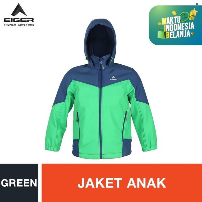 Promo Eiger Kids Navigator Jacket Green S Kota Tangerang Selatan Eigerindo Store Tokopedia