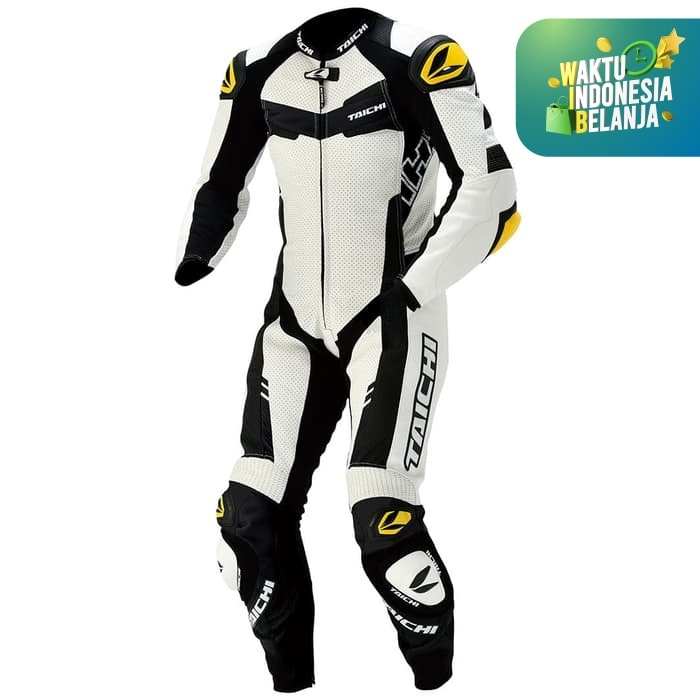 Foto Produk RSTAICHI Taichi NXL305 | GP-WRX R305 LEATHER Racing SUIT - White - L dari Helm Cargloss