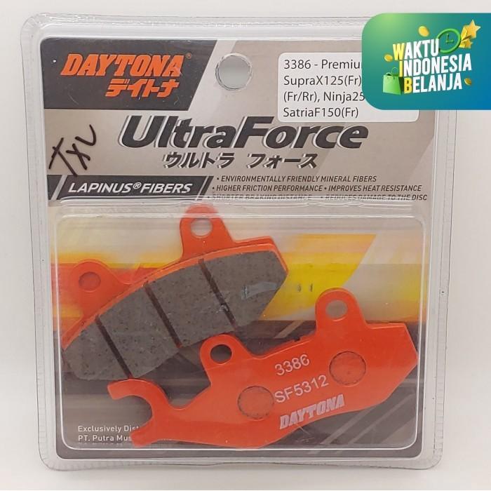 Foto Produk Kampas Rem Depan Satria Fu 150 Daytona Lapinus Fibers dari Lestari Motor 2