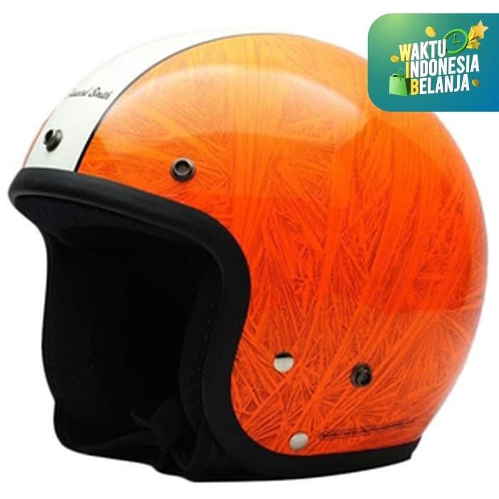 Foto Produk Helm Cargloss CFL Howard Smith Mutan FZ Orange - Merah Salem, SIZE XL dari Helm Cargloss