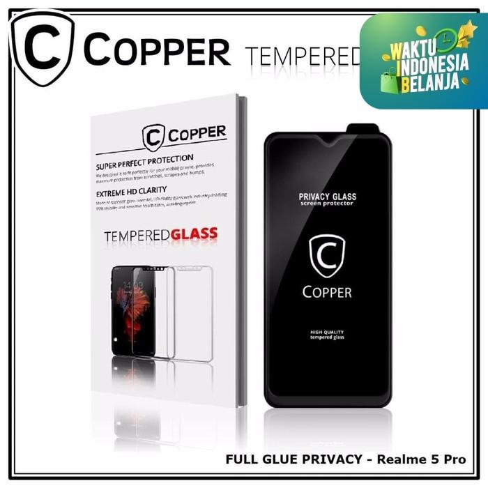 Foto Produk Realme 5 pro - COPPER Tempered Glass PRIVACY/ANTI SPY(Full Glue) dari Copper Indonesia