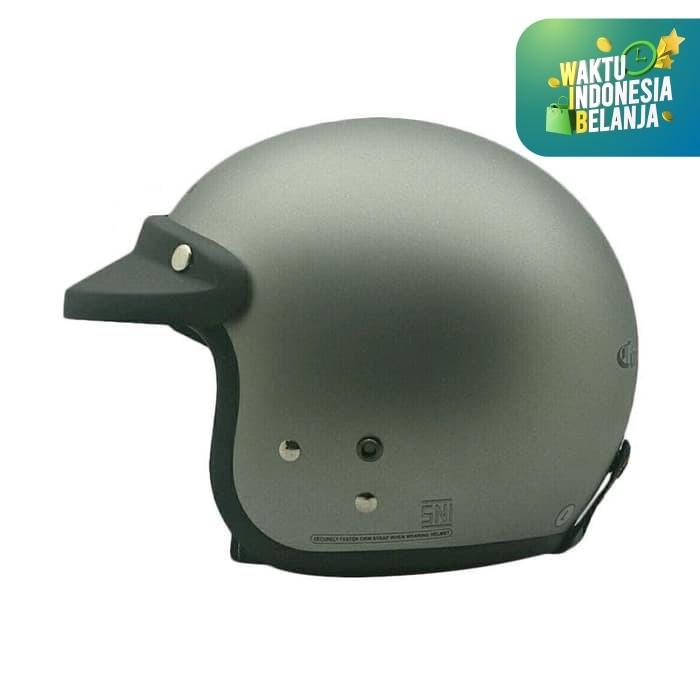 Foto Produk CARGLOSS CF RETRO SILVER METT 8 DOFF - XL dari Helm Cargloss