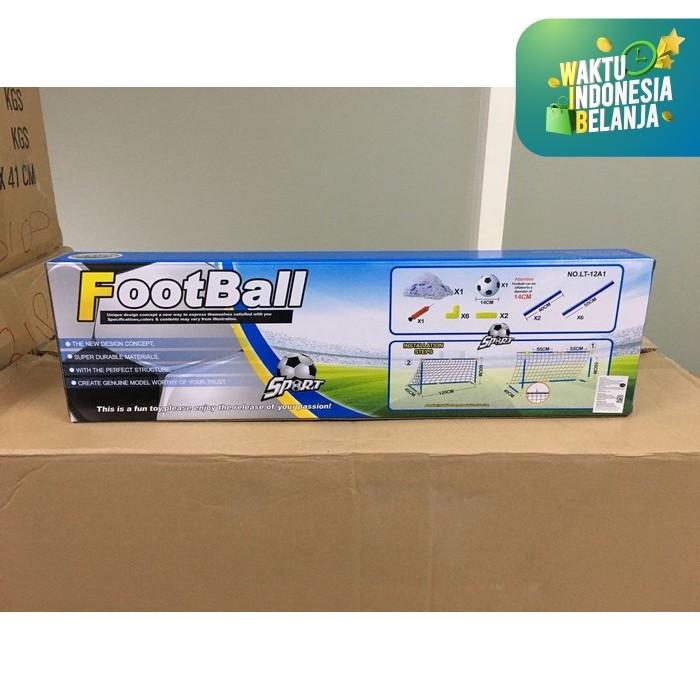 Foto Produk Mainan Anak Foot Ball Sepak Bola Edukasi Gawang Bola LT 12A1 Lebaran dari Toko-Ku by FAS-TOP
