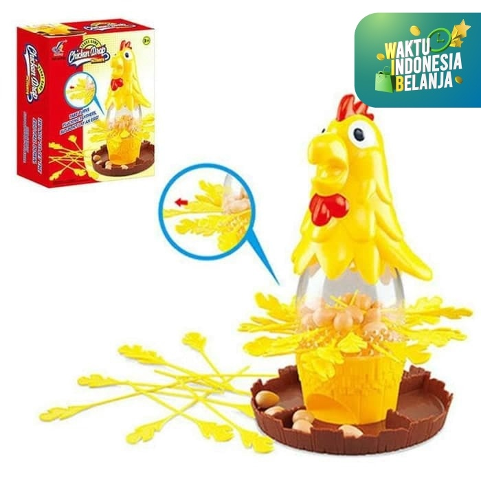 Foto Produk Mainan Aank Chicken Drop Game Dont Lay The Egg Game Mainan Edukasi dari Toko-Ku by FAS-TOP