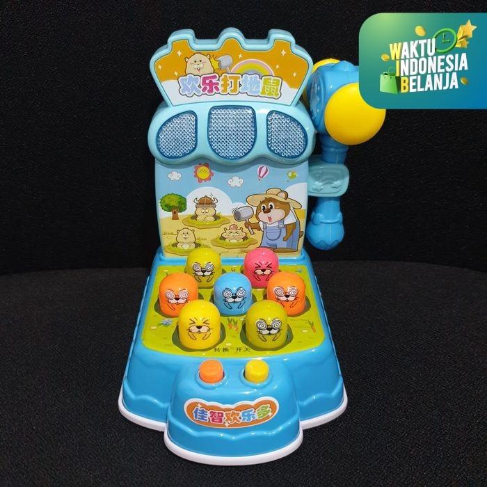 Foto Produk MB42 Mainan Games Hit Hamster Toys 2213 / Games Memukul Hamster - HAMSTER BIRU dari Mmtoys Indonesia
