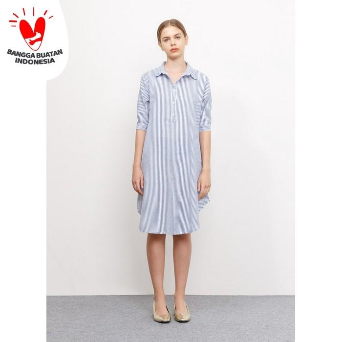 Foto Produk Ivelle Dress - Blue Bobo Tokyo dari Bobo Tokyo