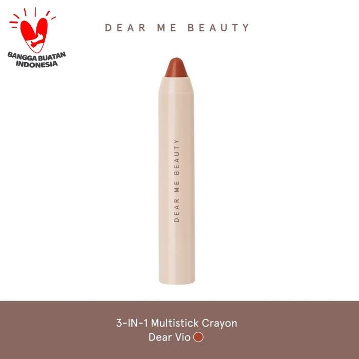 Foto Produk Dear Me Beauty 3-In-1 Multistick Crayon - Dear Vio dari Dear Me Beauty