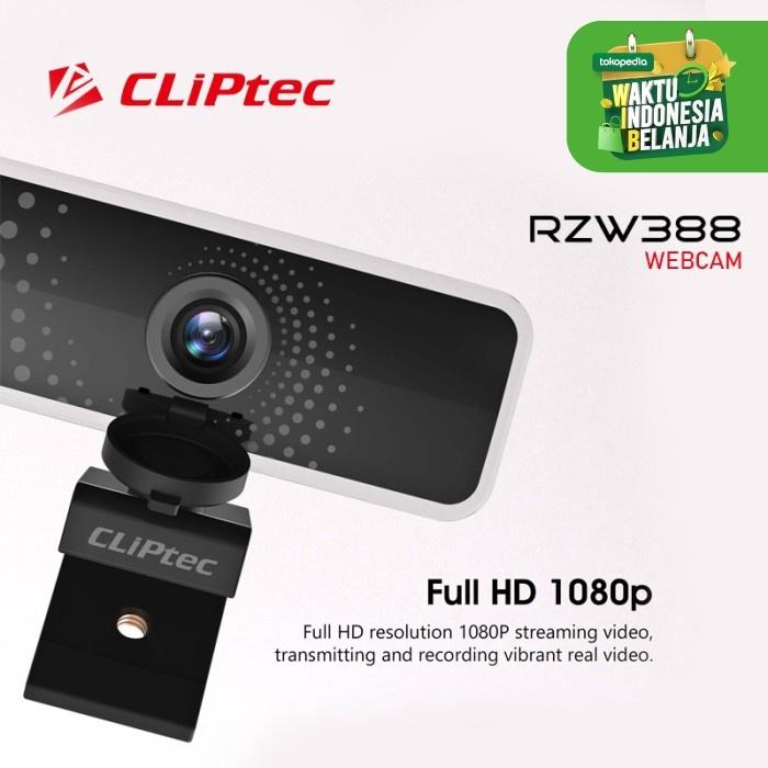 CLIPtec Webcam RZW388 Full HD1080P Image