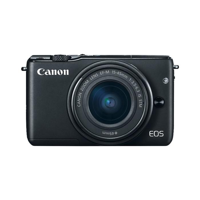 jual kamera mirrorless canon eos m10 15 45mm daldigital. Black Bedroom Furniture Sets. Home Design Ideas