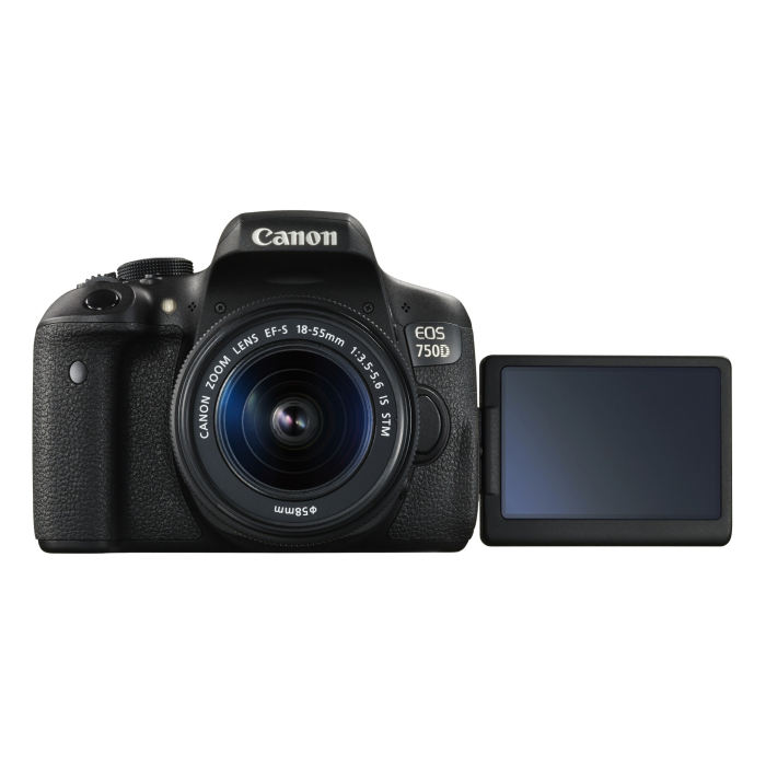 Kamera Digital SLR Canon EOS 750D Lens 18-55mm 2