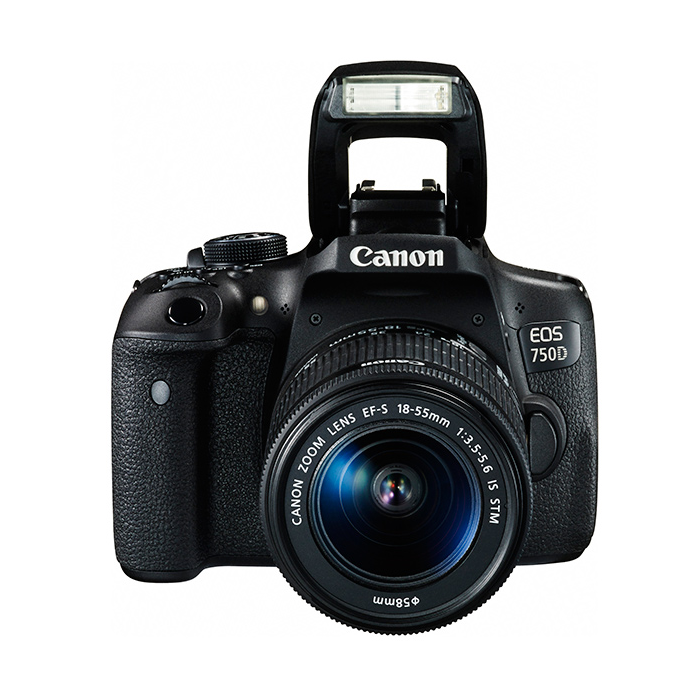 Kamera Digital SLR Canon EOS 750D Lens 18-55mm 3