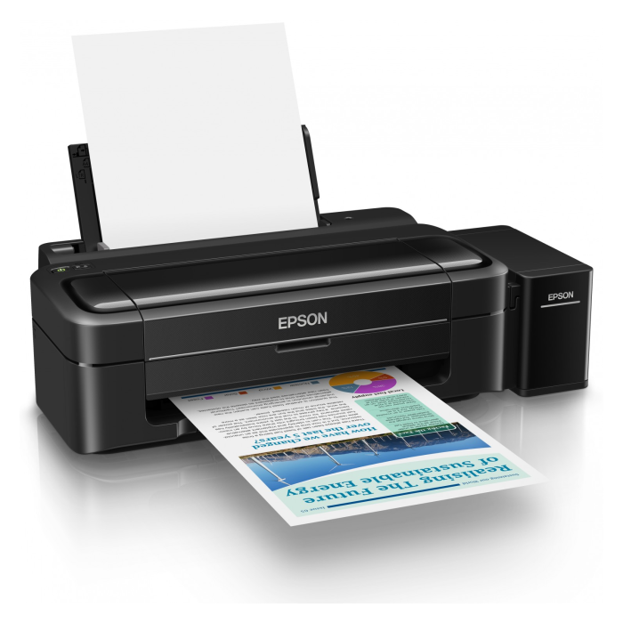 how to get epson printer top print only black