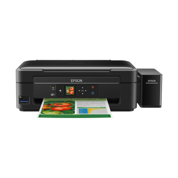 jual printer epson l455 print scan copy direct wifi lcd jagoan printer tokopedia. Black Bedroom Furniture Sets. Home Design Ideas