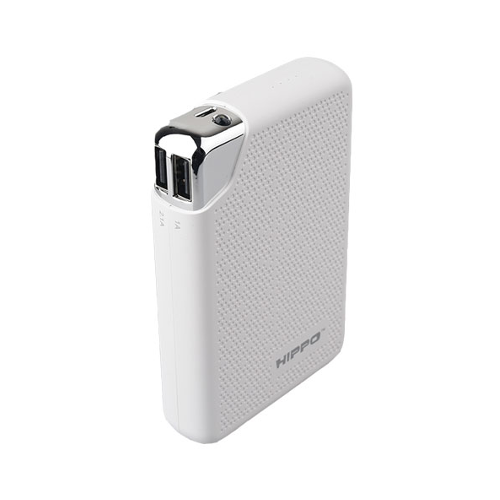 Jual Hippo Power Bank Bronz X 10000 MAH Metal Design