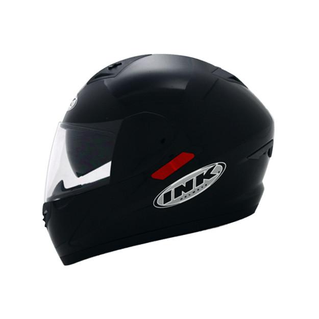 Helm INK CL-1 Hexagon Full Visor Fullface CL1 Black White Red Carbon 4