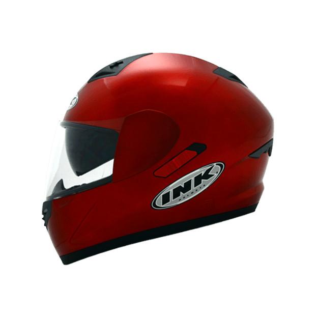 Helm INK CL-1 Hexagon Full Visor Fullface CL1 Black White Red Carbon 5