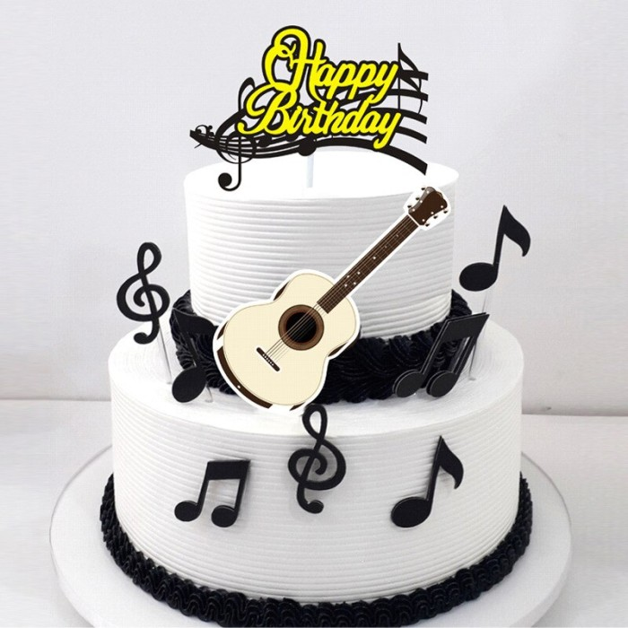 Jual 8pcs Set Note Happy Birthday Cake Topper Ild Birthday Cartoon Cake Kab Bogor Star Eleven S Tokopedia