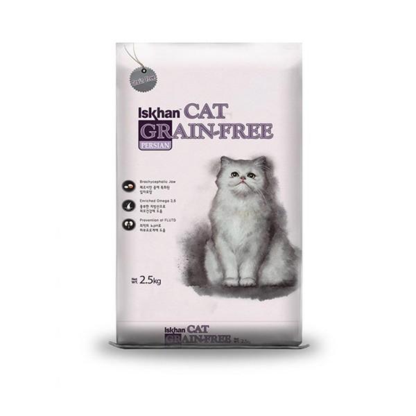 Foto Produk iskhan 2.5 kg cat persian grain free dari F.J. Pet Shop