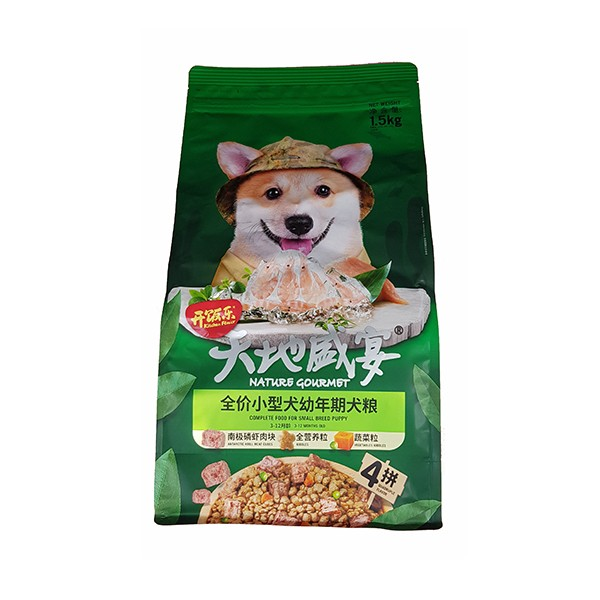 Foto Produk kitchen flavor nature gourmet 1.5 kg puppy small breed antarctic krill dari F.J. Pet Shop