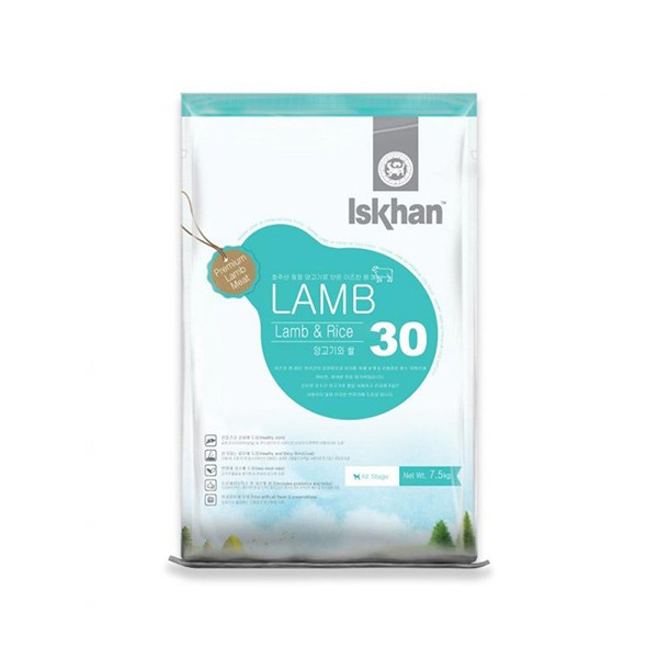 Foto Produk iskhan 7.5 kg dog lamb and rice 30 dari F.J. Pet Shop