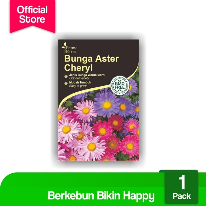 Jual Benih Bibit Bunga Aster Mix Kota Denpasar Potme Farm Jessie Tokopedia