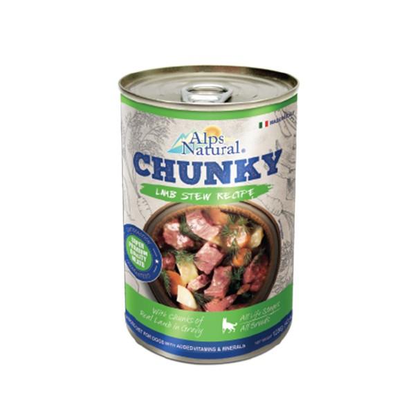 Foto Produk alps natural 415 gr dog chunky lamb stew recipe dari F.J. Pet Shop
