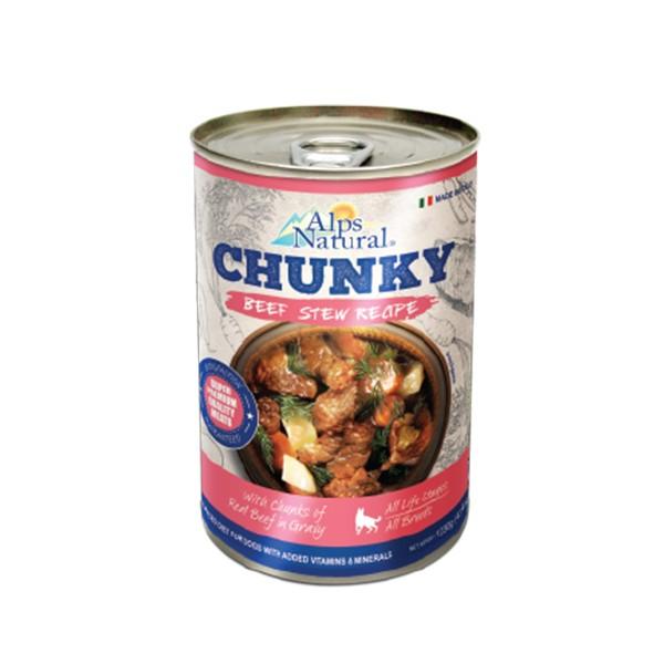 Foto Produk alps natural 415 gr dog chunky beef stew recipe dari F.J. Pet Shop
