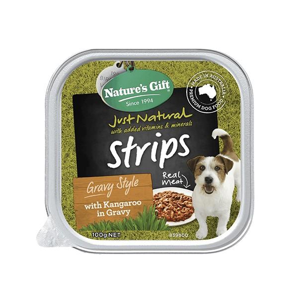 Foto Produk natures gift gourmet 100 gr dog kangaroo in gravy gravy style dari F.J. Pet Shop