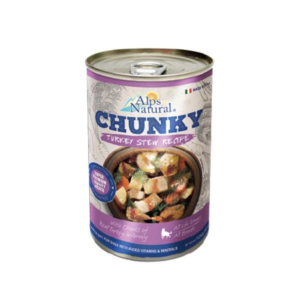 Foto Produk alps natural 415 gr dog chunky turkey stew recipe dari F.J. Pet Shop
