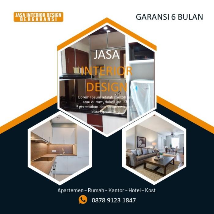 Jual Konsultan Interior Desain Apartemen 3 Bedroom Kemiri Tangerang Jakarta Timur White Meable 326 Tokopedia