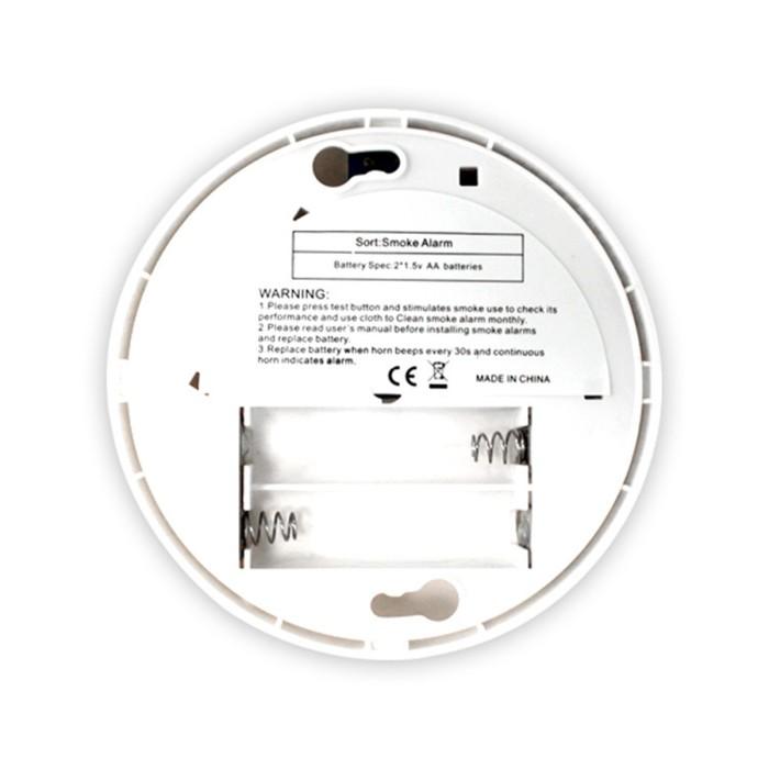 Jual Wireless Smoke Detector Security Alarm Sensor System Home Battery Jakarta Selatan Andiah Store Tokopedia