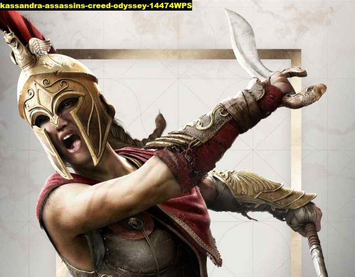 Jual Poster Game Kassandra Assassins Creed Odyssey 14474wps 90x70