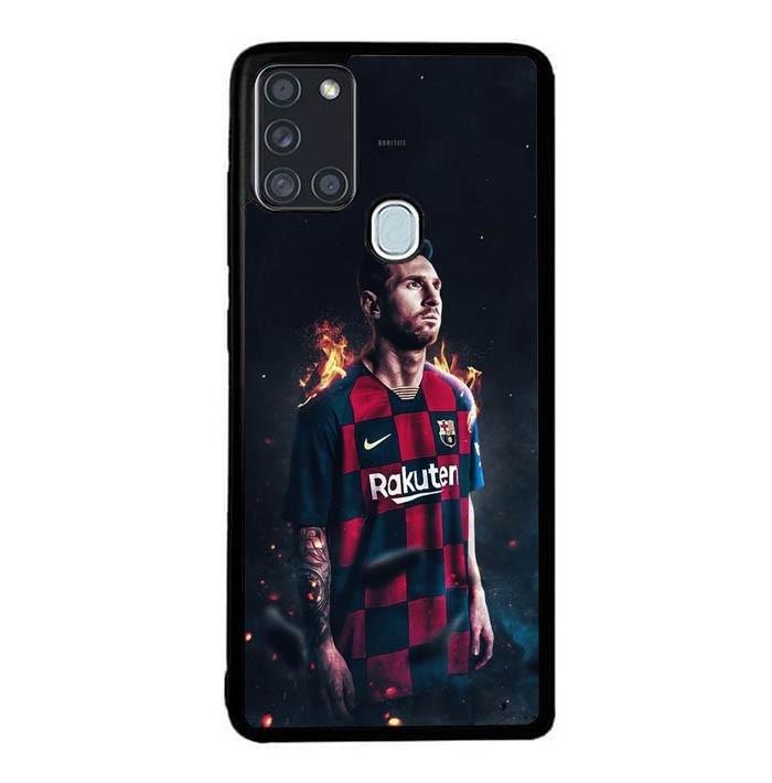Jual Casing Samsung Galaxy A21s Messi Ff01001 Kota Semarang Awan Bengi Store Tokopedia