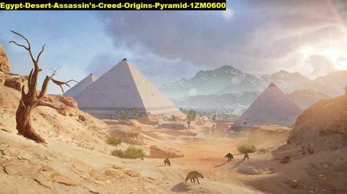 Jual Poster Egypt Desert Assassins Creed Origins Pyramid 1zm0600