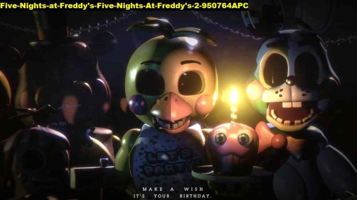 Jual Poster Five Nights At Freddys 2 950764 90x51 Pet Kab Majalengka Juragan Poster Murah Tokopedia
