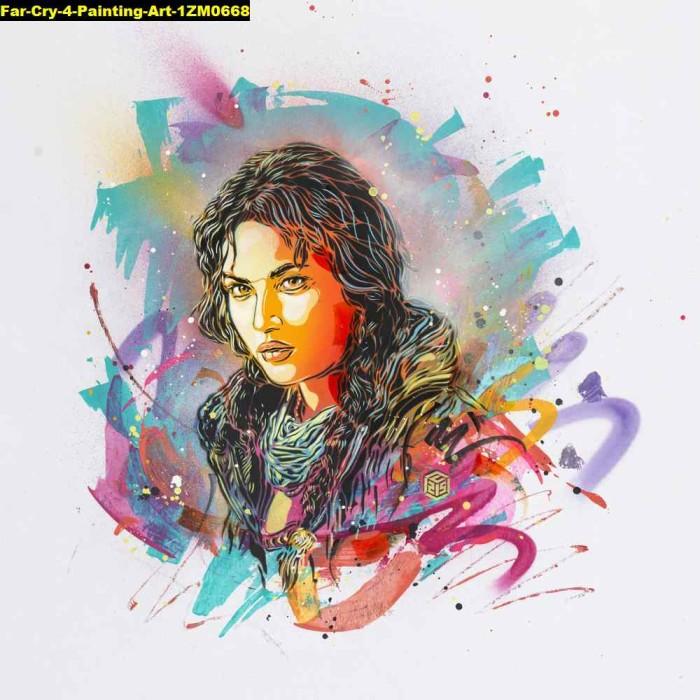 Jual Poster Game Far Cry 4 Painting Art 1zm0668 90x90cm Bahan Pet Kab Majalengka Juragan Poster Murah Tokopedia