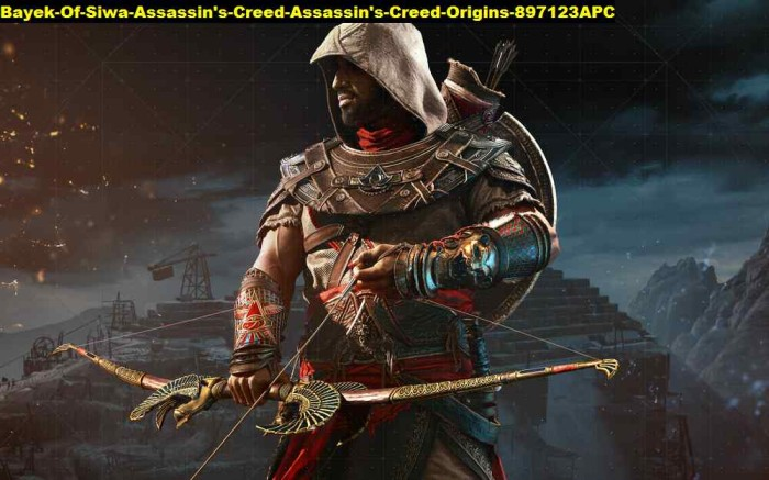 Jual Poster Bayek Of Siwa Assassins Creed Origins 897123 90x56 Pet