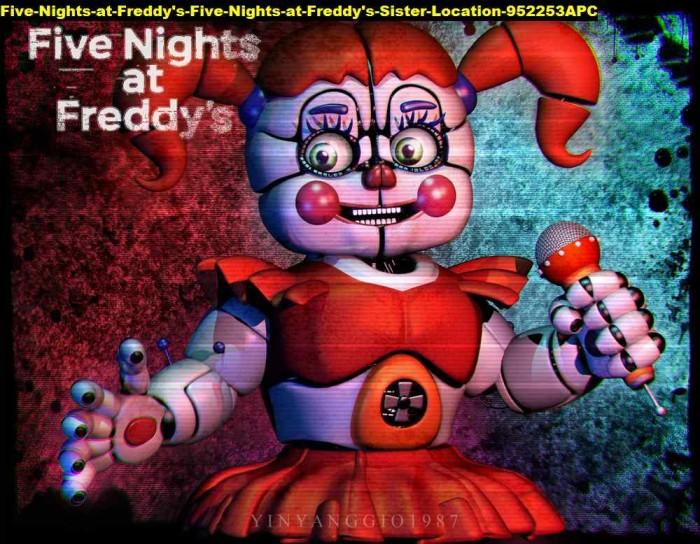 Jual Poster Five Nights At Freddys Sister Location 952253 90x70 Pet Kab Majalengka Juragan Poster Murah Tokopedia
