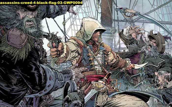 Jual Poster Game Assassins Creed 4 Black Flag 03 Gwp0094 90x56cm Bahan Pet Kab Majalengka Juragan Poster Murah Tokopedia