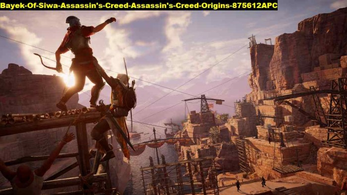 Jual Poster Bayek Of Siwa Assassins Creed Origins 875612 90x51 Pet