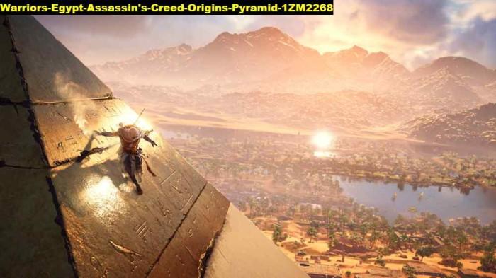 Jual Poster Warriors Egypt Assassins Creed Origins Pyramid 2268