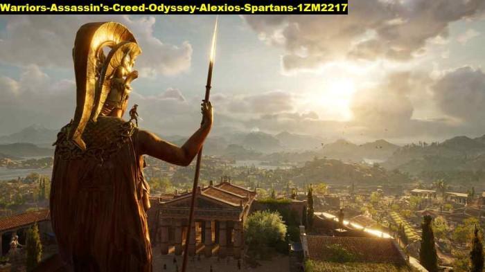 Jual Poster Warriors Assassins Creed Odyssey Alexios Spartans 2217