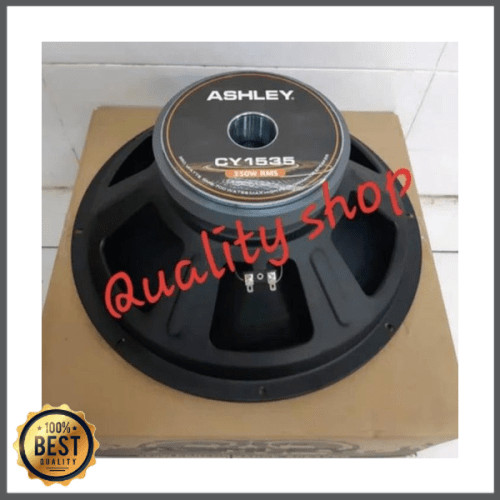 Foto Produk Unik SPEAKER 15 INCH ASHLEY CY1535 KARAKTER MID BASS ORIGINAL Limited dari Arisha Azzahra